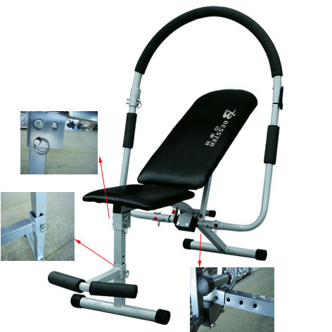 Best Js-005 Ab Fitness Abdominal Bench Ab Tower Fitness Machine ...