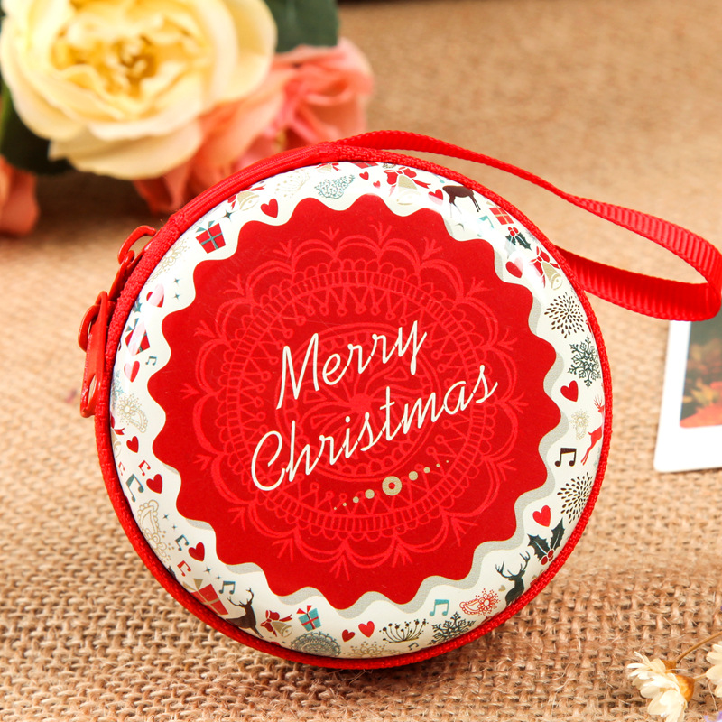 2018 Christmas Tree Decoration Gift Bag Coin & Candy Small Bag For Kid