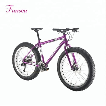 "China supplier oem brand fatbike 26""X4.0""30 big tyre aluminum alloy frame high quality snow bicycle beach cruiser mens fat bike"