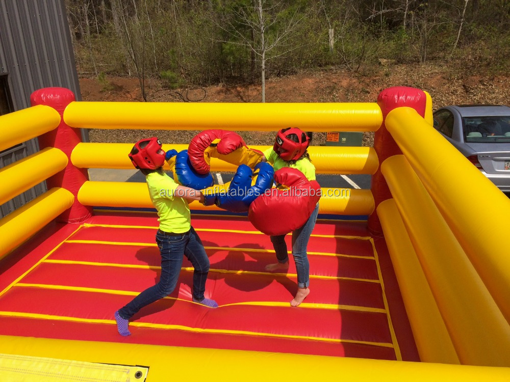 New Finished Inflatable Wrestling Ring With Cheap On Sale ...