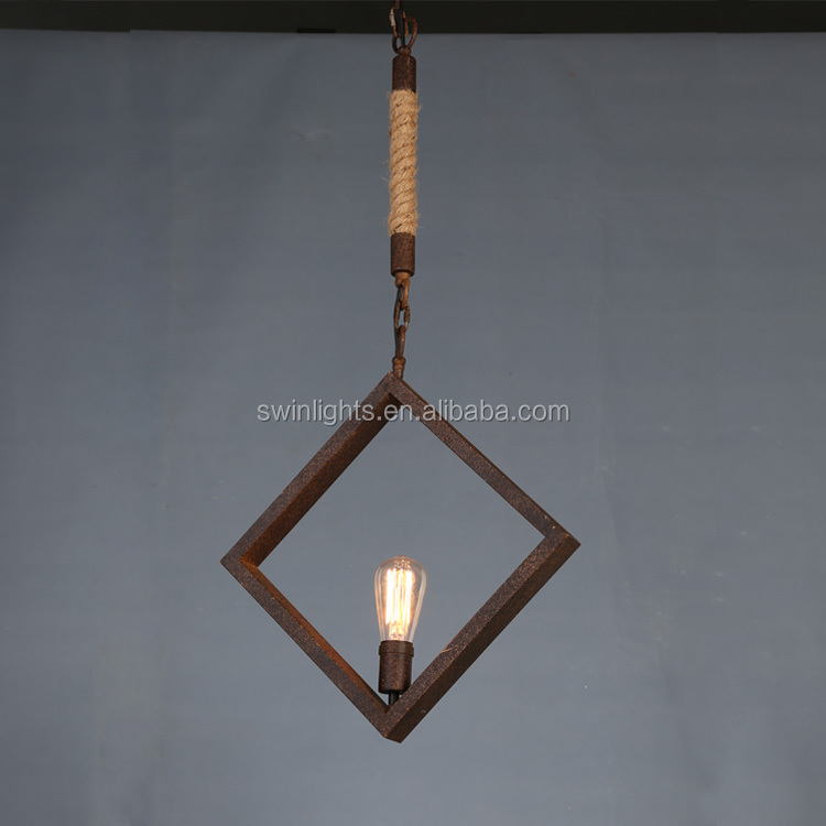simple design led chandelier lighting,Edison bulb vintage industrial pendant light
