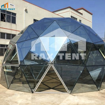 Raxtent 6m glass dome house,dome for hotel,China manufacturer at low factory price