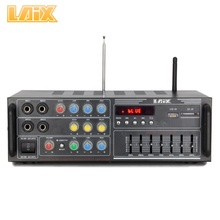 Laix LX-777 VHF UHF Microfone DVD Painel Transformador <span class=keywords><strong>HF</strong></span> <span class=keywords><strong>Amplificador</strong></span> <span class=keywords><strong>de</strong></span> Potência Musical EQ