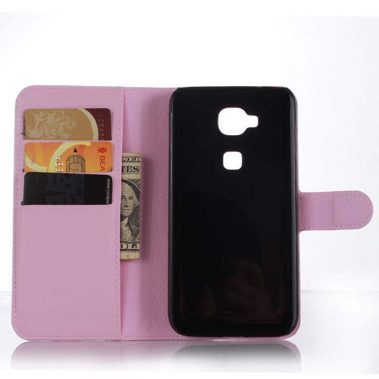 Bottom price promotional leather case cover for huawei g8