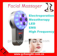 Mini handheld multifunctional LED light EMS facial massager BD-CS004