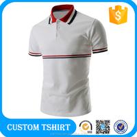 100% Cotton High Quality Customized Logo Printed Casual Blank Polo Shirt 200 grams