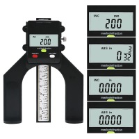 Digital Depth Gauge 80mm LCD Height Gauges Calipers For Router Tables Woodworking