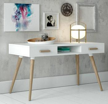 Scandinavian simple design modern office table