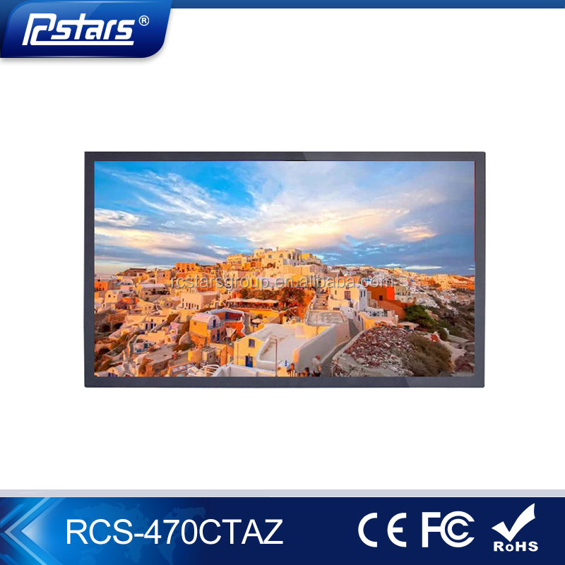 "47"" inch LED backlinght Monitor Latest Portable Wall Mount TV for Computer Network Digital Signage LCD Media Player"