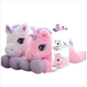 giant EN71 laying big unicorn toys larger size 20cm 30cm 40cm 50cm 60cm 80cm 100cm 120cm customized for kids