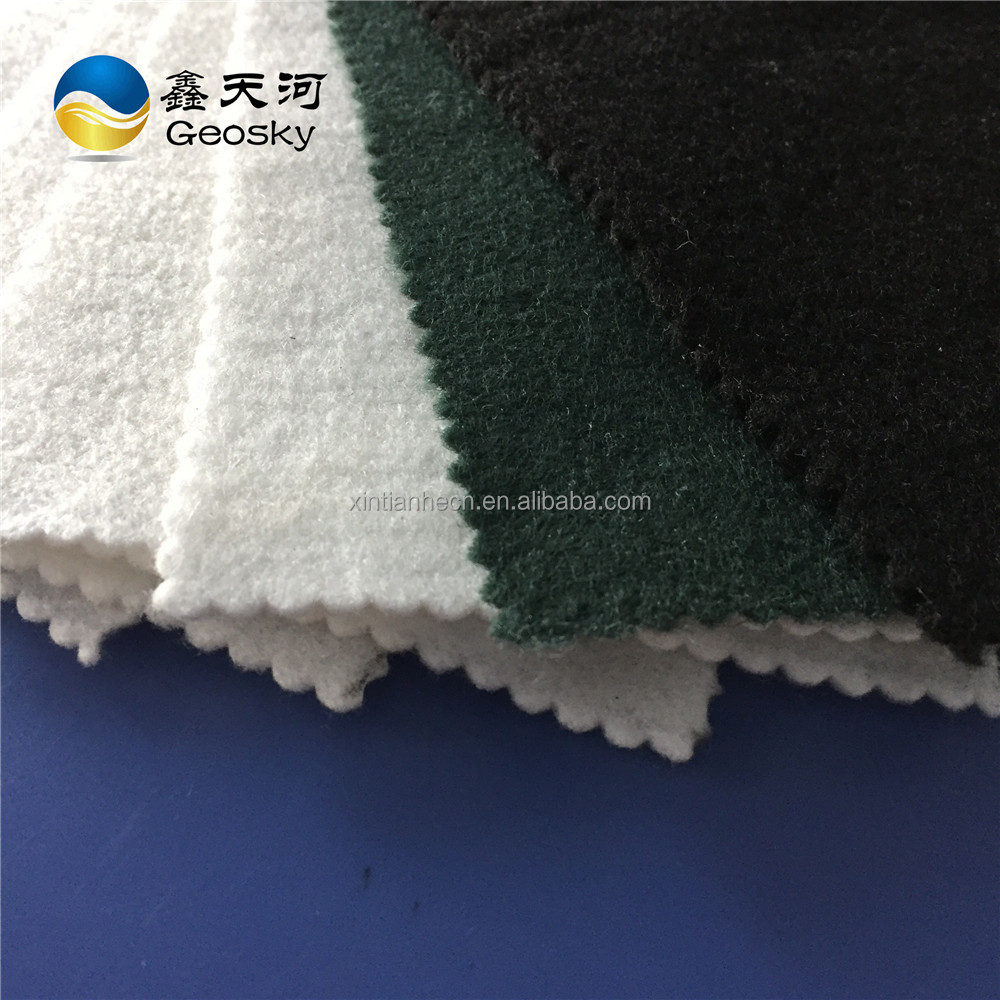 Construction used polyester nonwoven filter geotextile fabric wholesale price