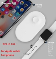 Mini AirPower wireless charger for iphone, For Apple Watch Series 1 2 3 4 usage charger