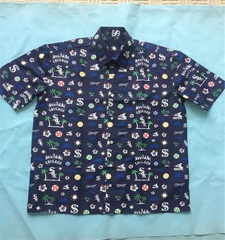 100% Polyester Digital Printing Kustom Dicetak Kemeja Untuk Pria Kualitas  Tinggi Kemeja Hawaii - Buy 100% Polyester Kemeja Hawaii Product on