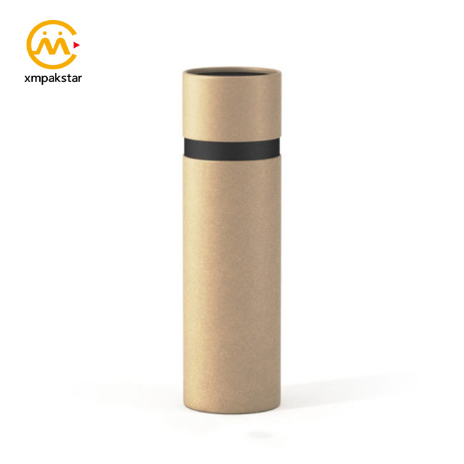 Factory cylinder cardboard perfume box paper tube for fragrance packaging