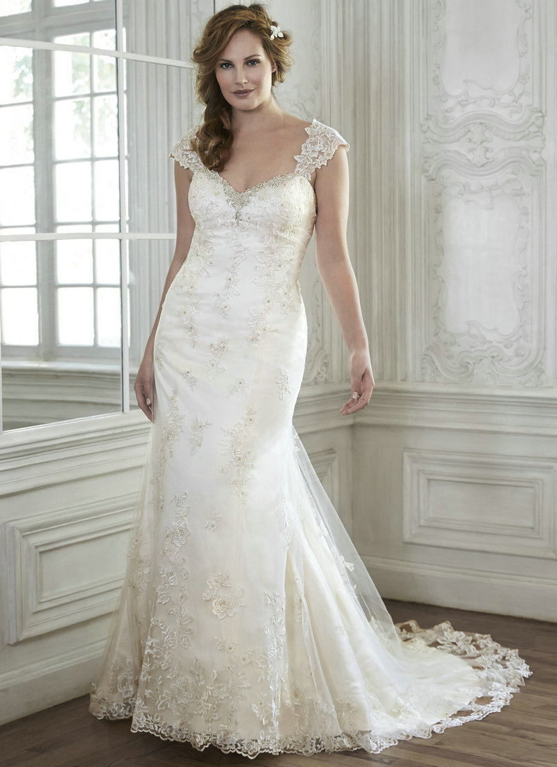 Romantic Vintage Wedding Dresses Lace Organza Sweetheart ... Lace Romantic Vintage Wedding Dresses With Sleeves