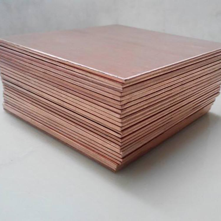 China Manufacturer 5Mm Copper Clad Steel Sheet