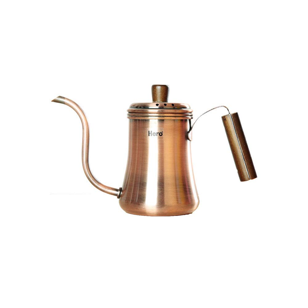 Stainless Steel Coffee Maker Coffee Pot Fine Mouth Pot Hand Pot 700ml