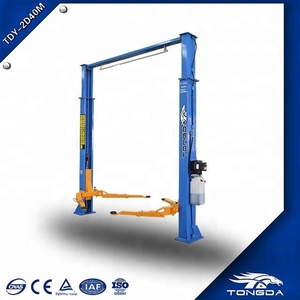 TONGDA two post car lift india two post carlift price in india two post lift 3 part arm TDY-2JL40M