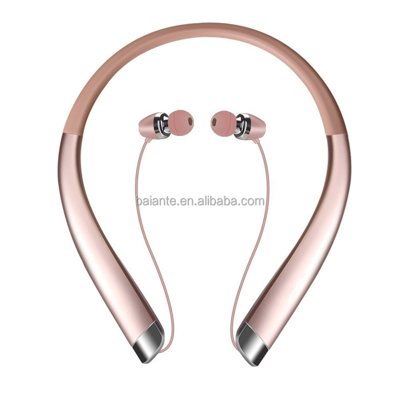 Wireless V4.1 Sport Stereo Bluetooth Headset Factory From China