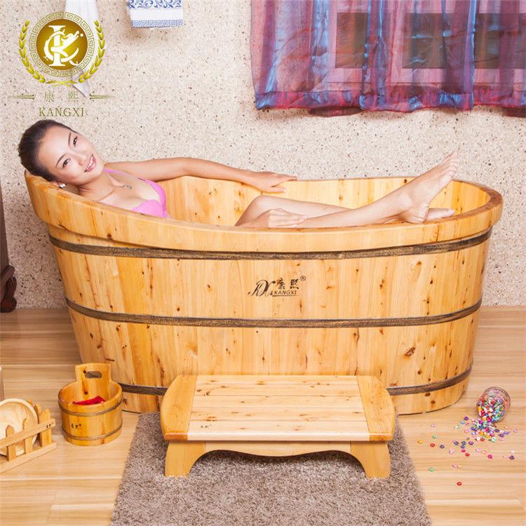solid cedar wood high end japanese tub hotel tub surrounds