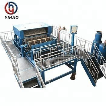 High Capacity Waste China Paper Egg Box Forming Tray Making Machinery Machine