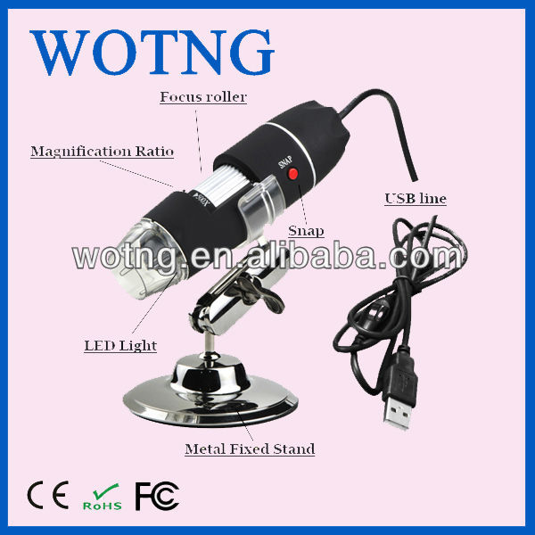 800X USB digital microscope / mobile Microscope / mobile Digital Microscope
