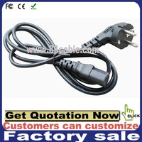 AC Power Supply Cords 2 Pin Plug AC power cord bulk extension cord