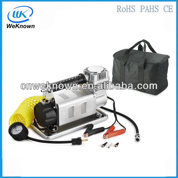 12 volts dc portable portable pneu de voiture gonfleur pompe pompe de pneu de voiture voiture. Black Bedroom Furniture Sets. Home Design Ideas