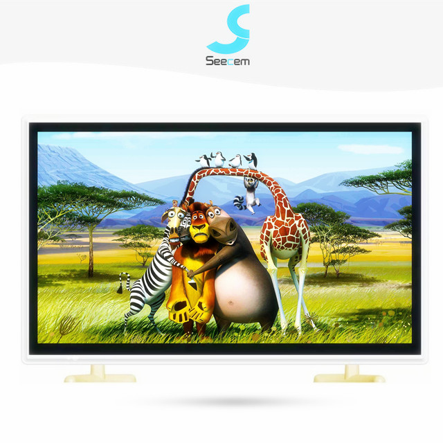"""נמוך מחיר 24 """"אינץ HD 1080P LED טלוויזיה עם כפול זכוכית פנל"""