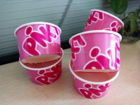 10oz disposable paper bowl soup cup ice cream paper cup
