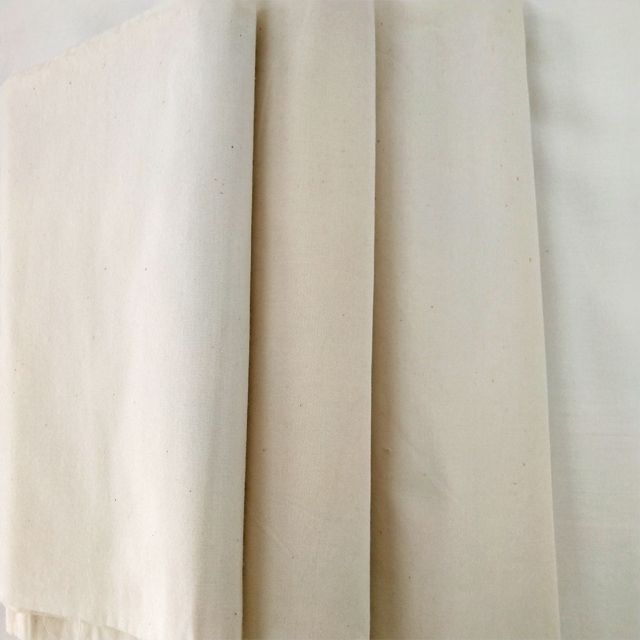 White 200TC poly cotton grey fabric for bed sheet and pillow case