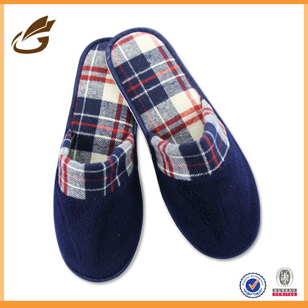 Japanese hot sale man slipper winter terry house indoor slipper