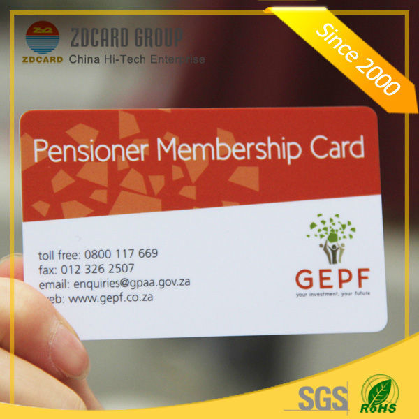 Best Customized Printed Free Sample Available Plastic Club Vip Gym – Membership Card Sample