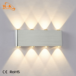 Wall mounted bed hotel led fancy wall light for sales