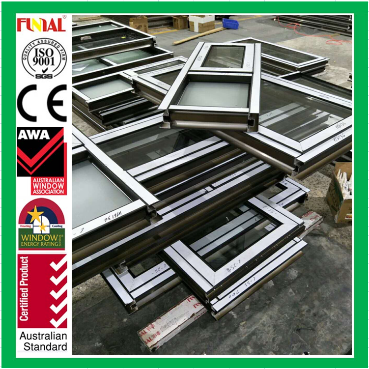 Australia standard hurricane impact aluminum awning windows