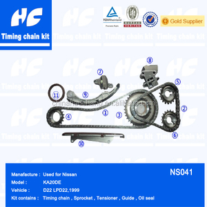 Timing chain kit used for nissan navara d22