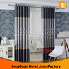 New product already made two color Joint blackout embroidery window curtain