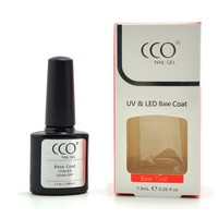 CCO Base Coat Soak Off Base Gel Creates The Adhesive Bond Between The Nail Plate and Gel Products