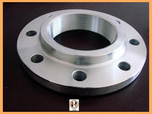 Forged carbon steel and stainless steel threaded pipe flange catalog