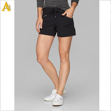 EEN Loszittende Pocket Yoga Sport Wear Running <span class=keywords><strong>Shorts</strong></span> Womens <span class=keywords><strong>Biker</strong></span> <span class=keywords><strong>Shorts</strong></span>
