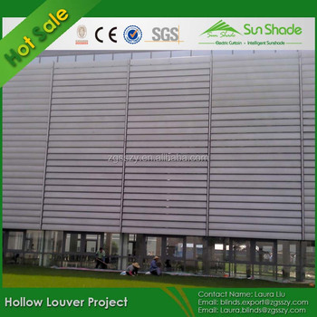 High Quality Aluminum Section Louver