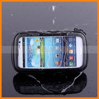 Waterproof 360 Degree Rotating Bicycle Motor Bike Handle Bar Pouch Holder Case For Mobile Phone