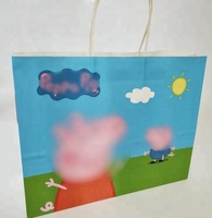 Cartoon Printed Funny Paper Shopping Bag