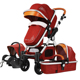 Factory provide multifunction baby stroller new 2018 folding stroller 3 in 1