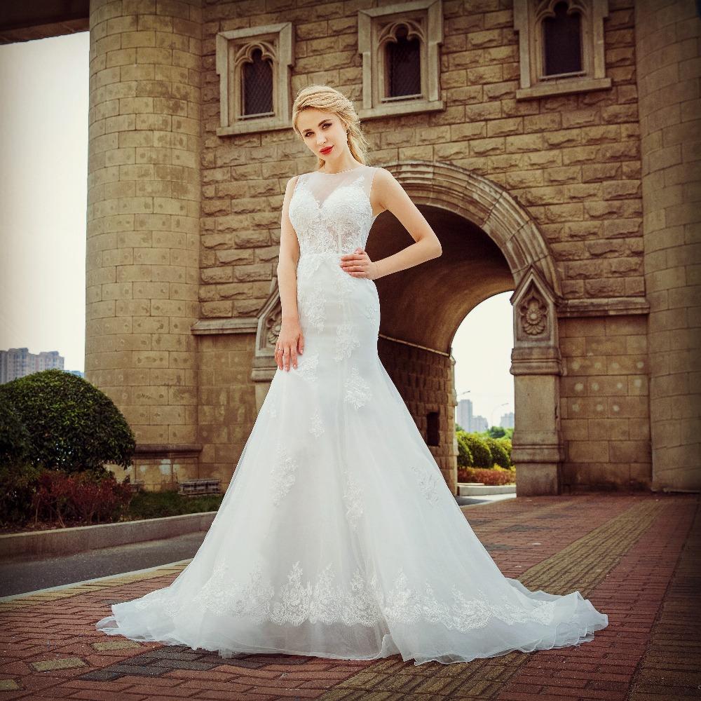 2018 Summer Mermaid Tail Lace Wedding Dress Buy Wedding