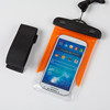 pvc waterproof phone bag for swimming diving with armbrand