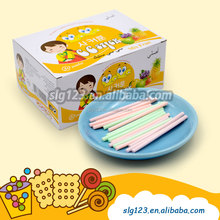 8.2g Korean girl brand fruity cc stick candy with display box packing