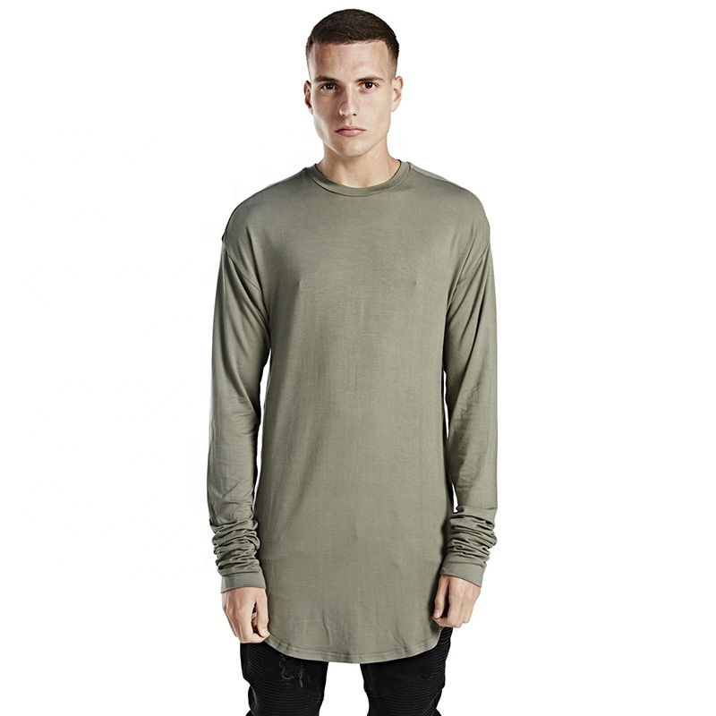 high quality t-shirt custom <strong>men</strong> stock dropshipping long sleeve t-shirt for <strong>men</strong>
