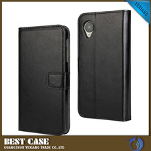 Wholesale price wallet leather flip cover case for lg l50 with stand