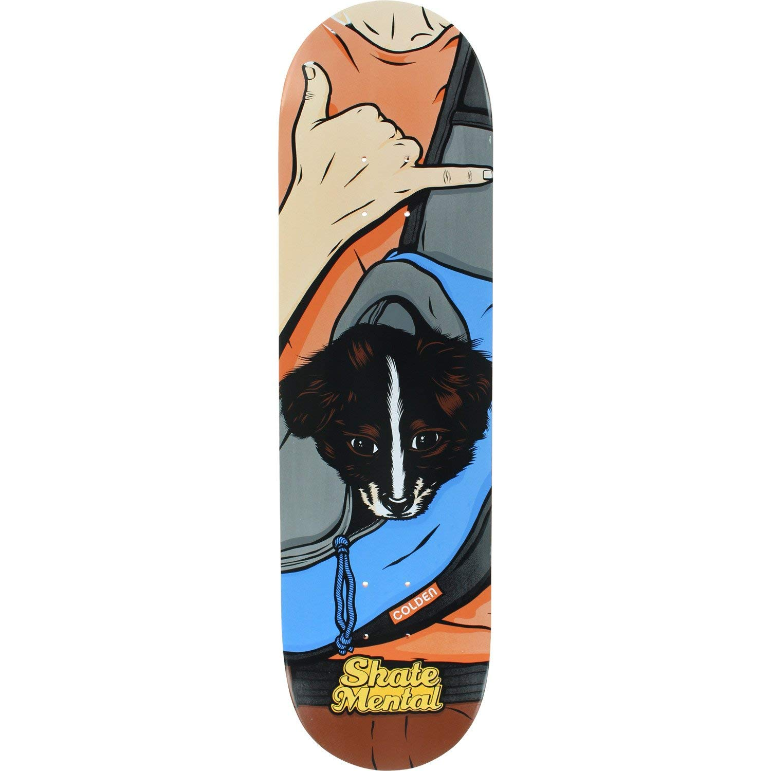 "Skate Mental  Kleppan Dropping In Skateboard Deck 8.125/"" x 31.625/"""